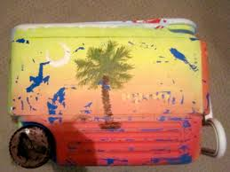 step by step incredibly detailed instructions for painting a scratch proof personalized cooler