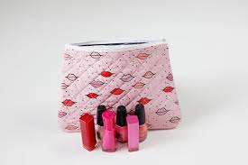 quilted cosmetic bag tutorial see