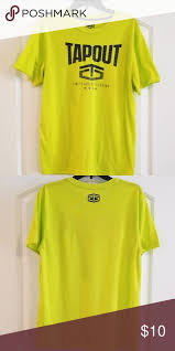 Tapout Clothing Size Chart Mens Tapout Tee Mens Tapout Tee Great Condition Tapout