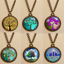 gustav klimt gifts canada chakra tree of life necklace gustav klimt throat charms mandala antique