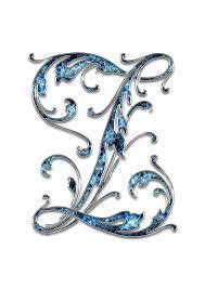 letter letter z z initials font