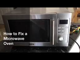How To Fix Oven How To A Fix A Microwave Oven Ifixit