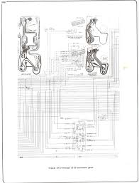 electrical diagrams chevy only page truck forum 73 76 instrument cluster