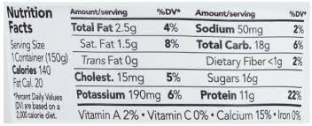 chobani mango on the bottom low fat greek yogurt nutrition facts
