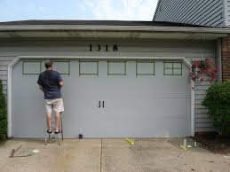 Modern Faux Carriage Garage Doors And Betwixt Home School Door Intended Innovation Ideas