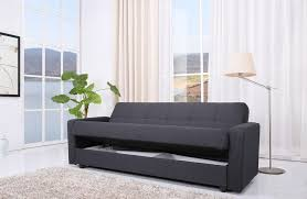sofa bed with storage. Contemporary Bed Homewish Jensen Sofa Bed Storage Charcoal Grey Fabric With