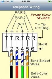 rj11 jack wiring rj11 image wiring diagram
