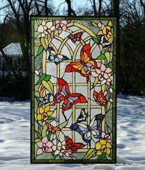 nautical stained glass window panels style panel ideas on roll