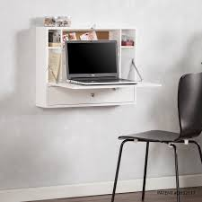 home office desk white. Charming Wall Mount Office Desk For Your Design: Small  Folding Home Office Desk White