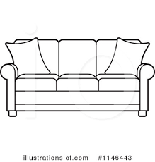 couch clipart black and white. Perfect Couch On Couch Clipart Black And White P
