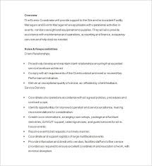 Event Manager Resume Samples 10 Event Planner Resume Templates Doc Pdf Free