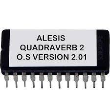 Alesis Quadraverb 2 Firmware 2 01 Upgrade Upgrade Latest O S Eprom Fx