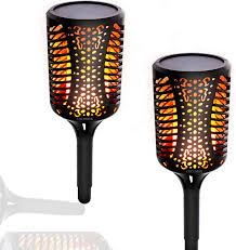 Amazon Com Cocomox Solar Lights Outdoor Solar Torch