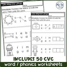 Most cvc words activities suggest reading the words aloud to pronounce consonant and short vowel sounds. Cvc Words Phonics Worksheets Differentiated For Special Education