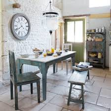 country style dining room furniture. Small Rustic Dining Room Spaces With French Country Style Sets And Wooden Table 2 Chairs Bench Seat Plus Exposed Brick Wall Painted Furniture