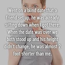 Set up blind date friend