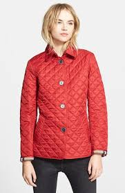 Burberry Brit 'Copford' Quilted Jacket available at #Nordstrom ... & Burberry Brit 'Copford' Quilted Jacket available at #Nordstrom Adamdwight.com