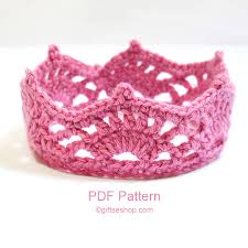 Crochet Crown Pattern Interesting Crochet Crown Pattern PDF N48 Gifts Shop