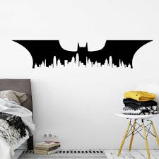 Batman Room Design Delicate Batman Superhero Wall Art Decal Wall Sticker Game Room Stickers For Boys Room Decoration Mural Poster Gifts