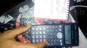 solving equations using casio 100 ms calculator