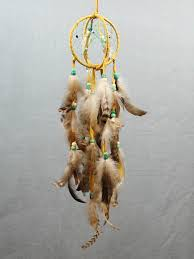 Double Dream Catchers Goldenrod Double Dream Catcher SS Handcrafted Art Gifts 69