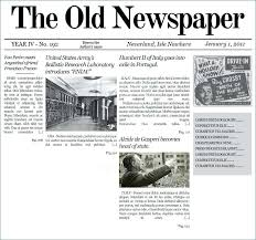 Newspaper Template Olden Times Office Cool Newspaper Template Old Powerpoint Breaking News