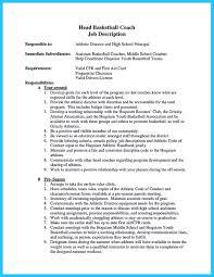 Athletic Academic Advisor Cover Letter High School Basketball Head