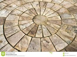 Small Picture Flooring Details Circle Design Stone Floor Tiles Outdoors Garden
