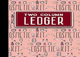 Bookeeping Ledger Pdf Top Trend Two Column Ledger Columnar Pad Accounting Ledger