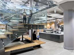 twitter office in san francisco. twitter occupies level five to nine of the building office in san francisco