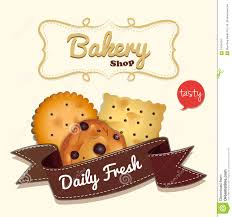 Free Cookies Sticker Design Logo Design With Cookies And Text Stock Vector