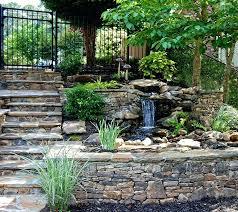 stacked stone waterfall flagstone walkway stone wall waterfall pond stacked stone waterfalls build stacked stone waterfall