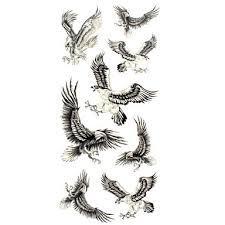 099 1 Pcs Dočasné Tetování Voděodolné Papír Tetovací Nálepky Vzor Spodní část Zad Waterproof