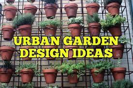 urban garden design ideas tricks