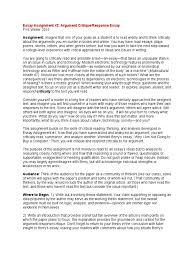 critique essays roofing inspector cover letter essay assignment 2 argument response and critique essay 1509806818 essay assignment 2 argument response and critique