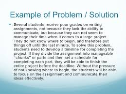 Example Of A Problem Solution Essay How To Buy Cheap College Papers Online Mathforlive Examples Of