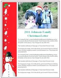 Free Download Family Newsletter Template Holiday Templates Word