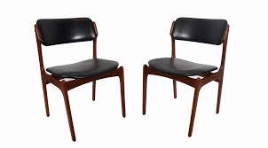 modern contemporary dining sets luxury mid century dining chairs danish modern teak erik buch od leather