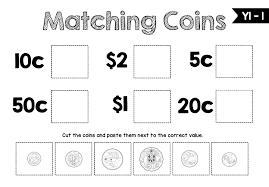 Subjects :: Mathematics :: Australian Money Year 1 and Year 2 Bundle
