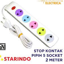 Ổ Cắm Điện 5 Ổ Dẹt 2m Srsop S5L-8705 K2 giá cạnh tranh
