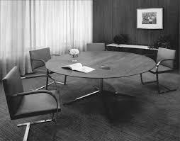 Office offbeat interior design Desk Designs Credit Courtesy Of Knoll Inc Pinterest Remembering Florence Knoll The Saginawborn Designer Who Pioneered