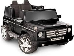 Newly designed seats in the finest the black accents either create exciting contrasts or enable a completely black look for the first time. Amazon Com National Products 12v Black Mercedes Benz G Class Battery Operated Ride On Toys Games