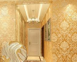 gold european style wallpaper