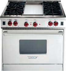 wolf 30 duel fuel range dual with 4 sealed burners griddle within plans e83