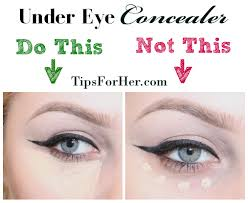 makeup tips to hide dark circles under eyes vidalondon
