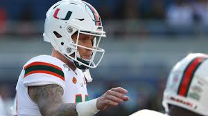 Miami Qb Depth Chart Tate Martell Takes Another Leave Of Absence Remains With