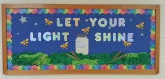 Be The Light Bulletin Board Sunday School Bulletin Board Let Your Light Shine Sunday