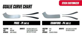 Ccm Goalie Stick Blade Chart Ccm Premier R1 9 Senior Composite Goalie Stick White Black