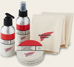 oil tanned leather care product kit