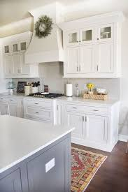 Beautiful The Backsplash Is A Light Gray Subway Tile, Color Is Called Pumice, Made By  H Line. Grout Color Is Driftwood.Beautiful Homes Of Instagram